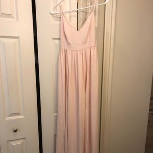 JCrew pink dress bridal dress size 4 New with tags